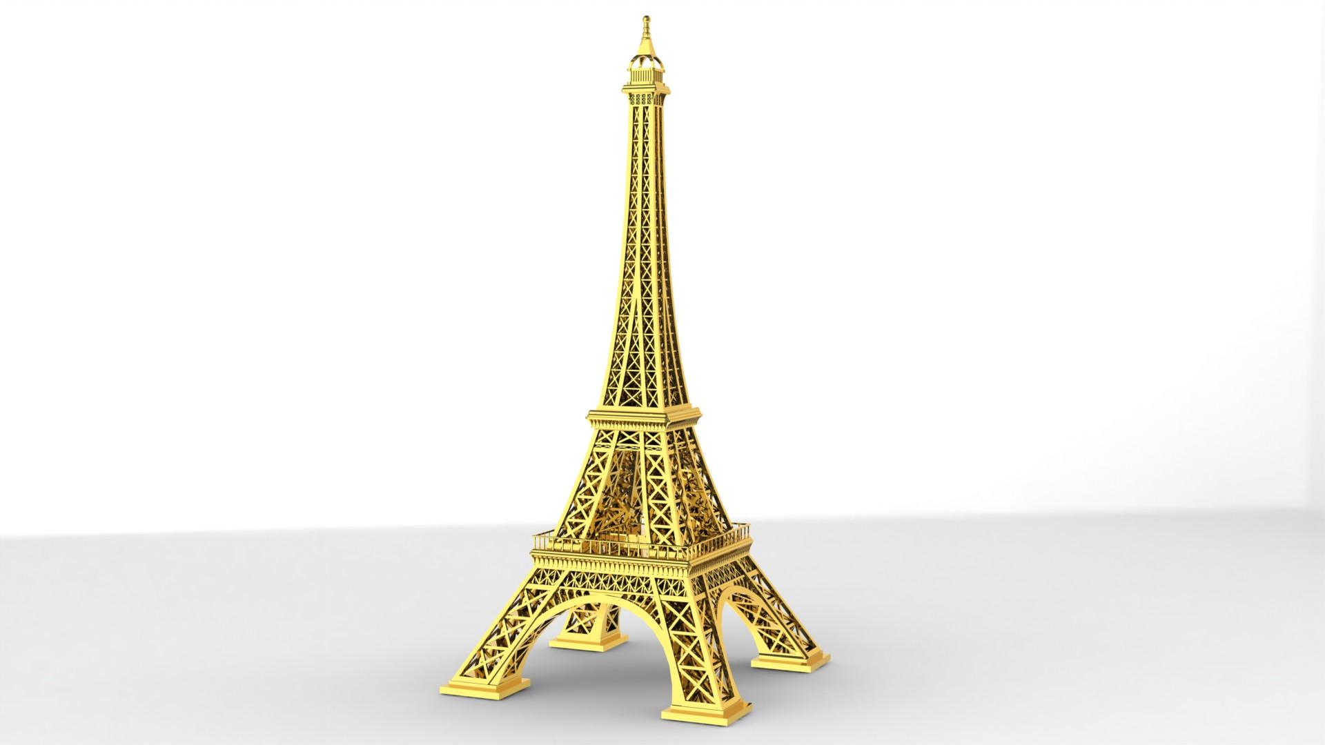 用SolidWorks设计埃菲尔铁塔