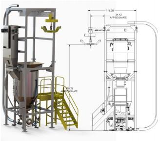 借助 DraftSight Enterprise 改进材料处理机械开发
