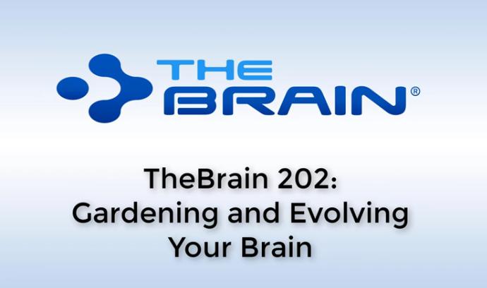 【TheBrain网络研讨】创作与编辑你的大脑思维!