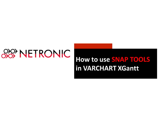VARCHART XGantt:如何使用快照在甘特图中定位节点