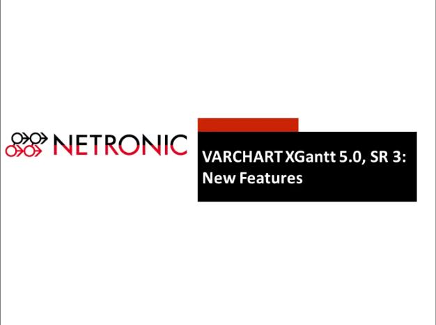 VARCHART XGantt:如何使用智能甘特图交互和快照工具