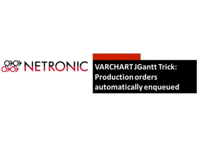 VARCHART JGantt:如何实现生产订单自动排队