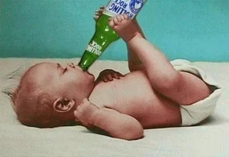 啤酒与婴儿尿片