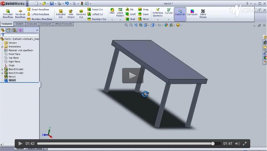 SolidWorks基础入门视频(一)