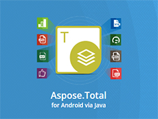Aspose.Total for Android via Java授权购买