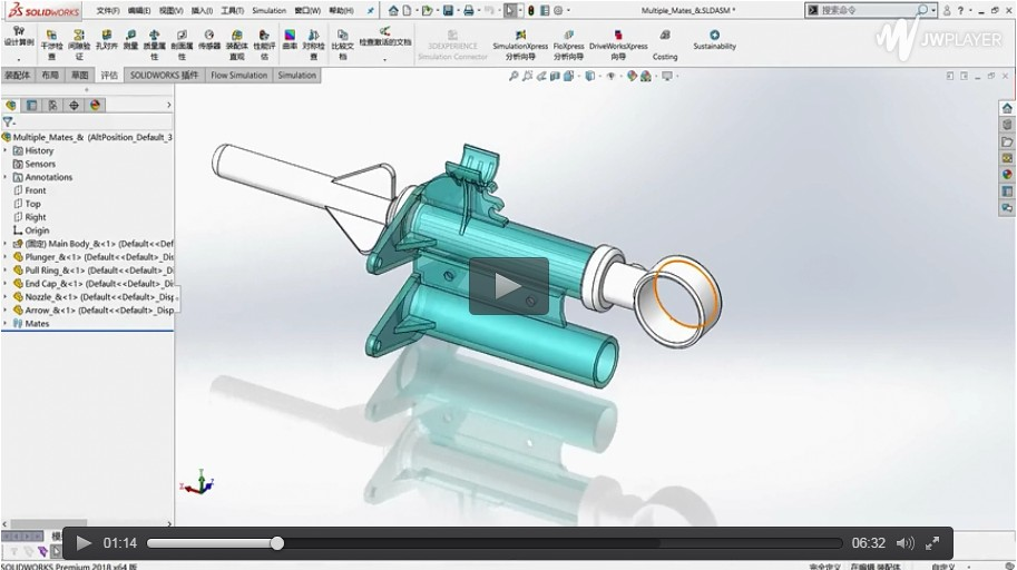 想知道在SolidWorks装配体中如何处理参考零部件吗