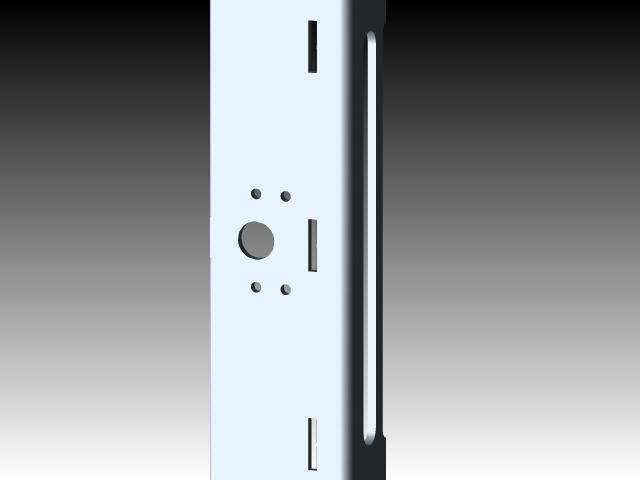 通过solidworks设计的小型CNC模型