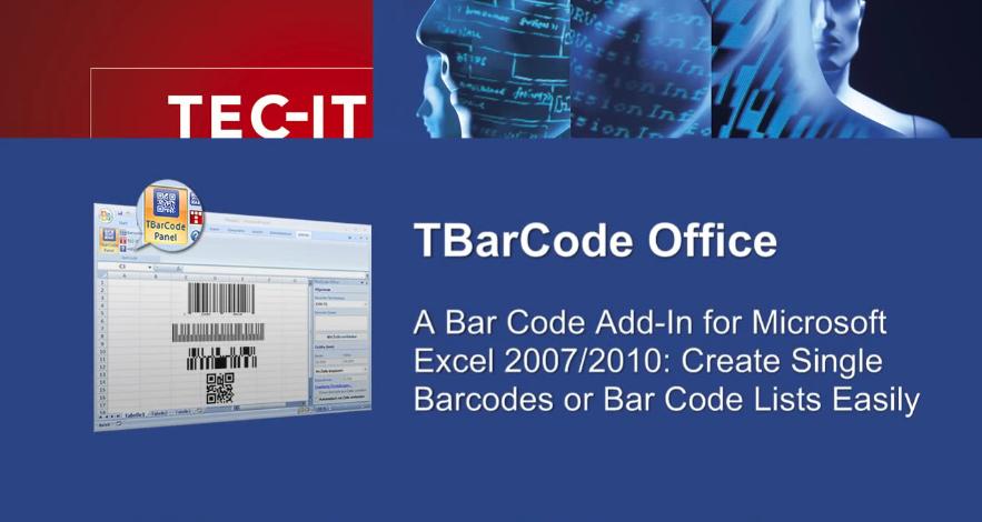 【教程】如何使用TBarCode Office在Microsoft Excel中创建和打印条形码?