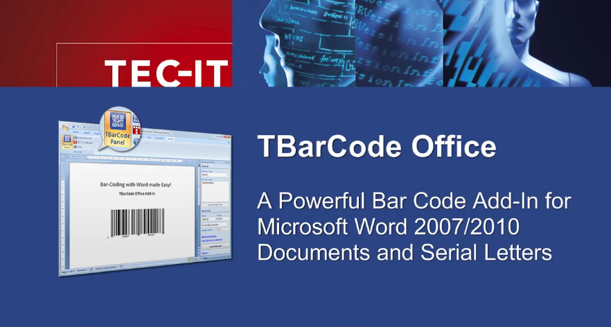 【教程】如何使用TBarCode Office在Microsoft Word中创建和打印条形码?