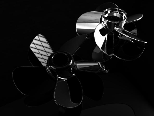 用SolidWorks画一个5叶螺旋桨