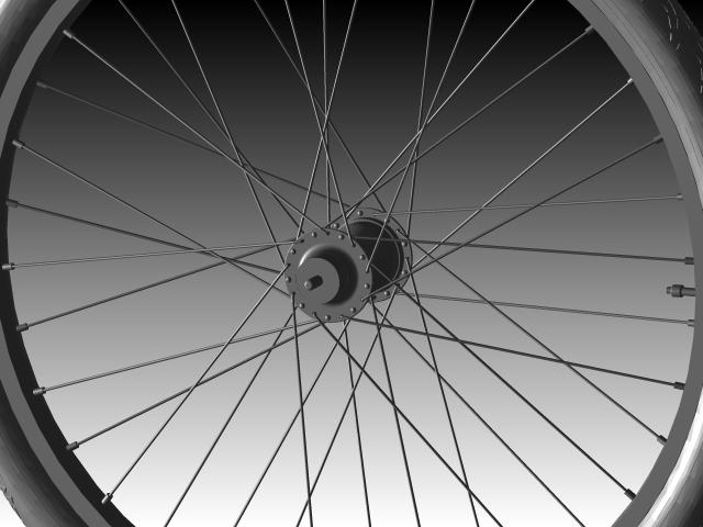 SolidWorks设计一个自行车轮胎模型