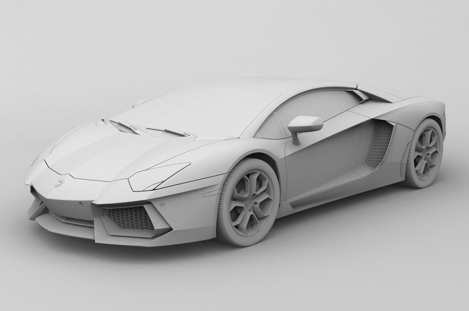 用SolidWorks设计兰博基尼Aventador LP700模型
