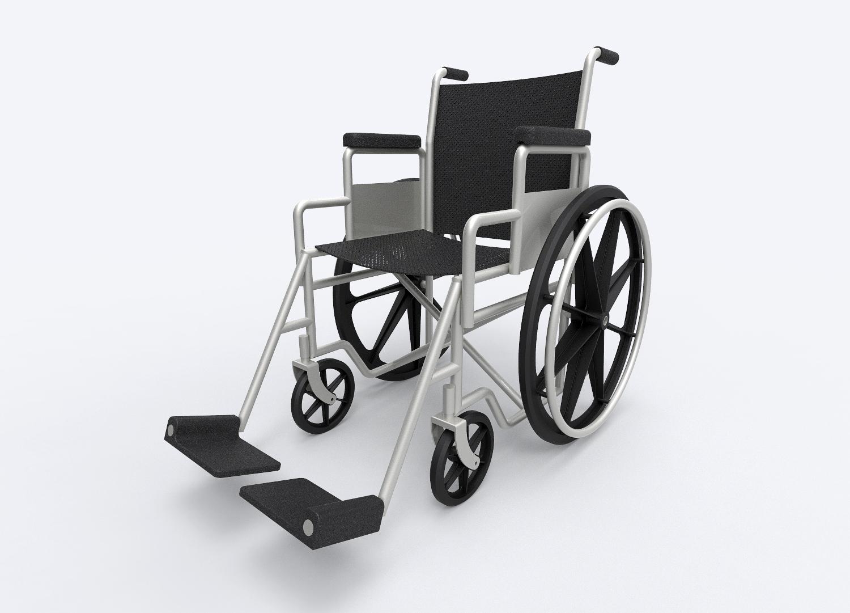 用SolidWorks设计的Everest&Jennings轮椅模型