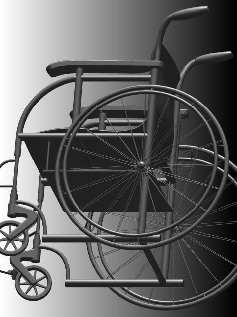 用SolidWorks设计两款轮椅和一款假肢