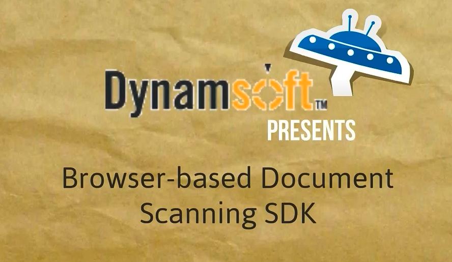 Dynamic Web TWAIN简介 - 基于浏览器的文档扫描SDK