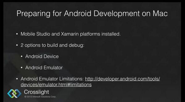 Intersoft视频教程:Mac上开发Android应用前的准备工作