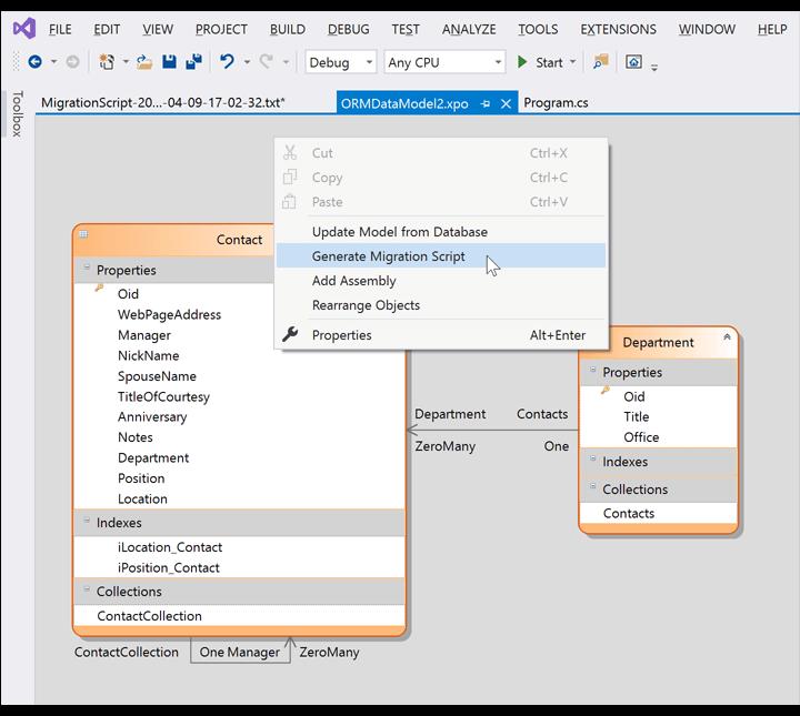 DevExpress Data Access v20.1新版亮点:XPO - ORM Library