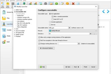 install4j预览:Java项目可执行文件