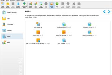 install4j预览:Java项目选择安装包类型