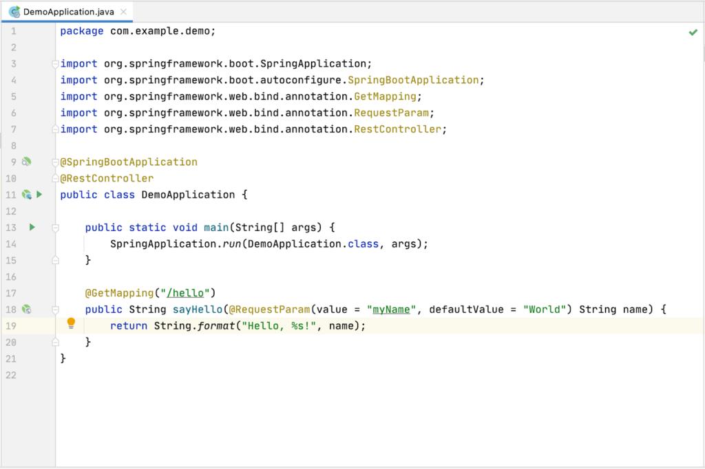 Spring Boot REST应用程序示例