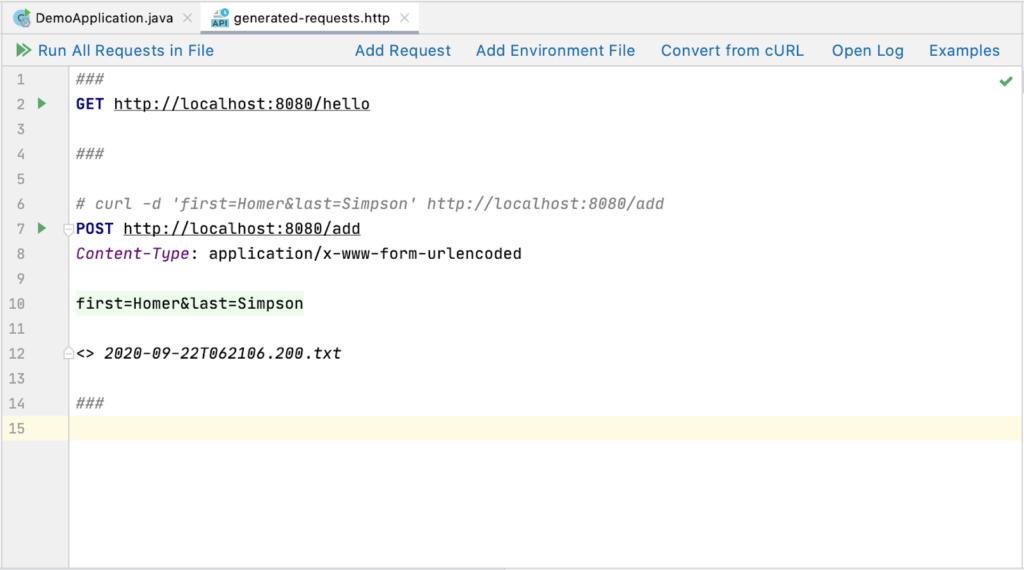 从curl转换的HTTP请求