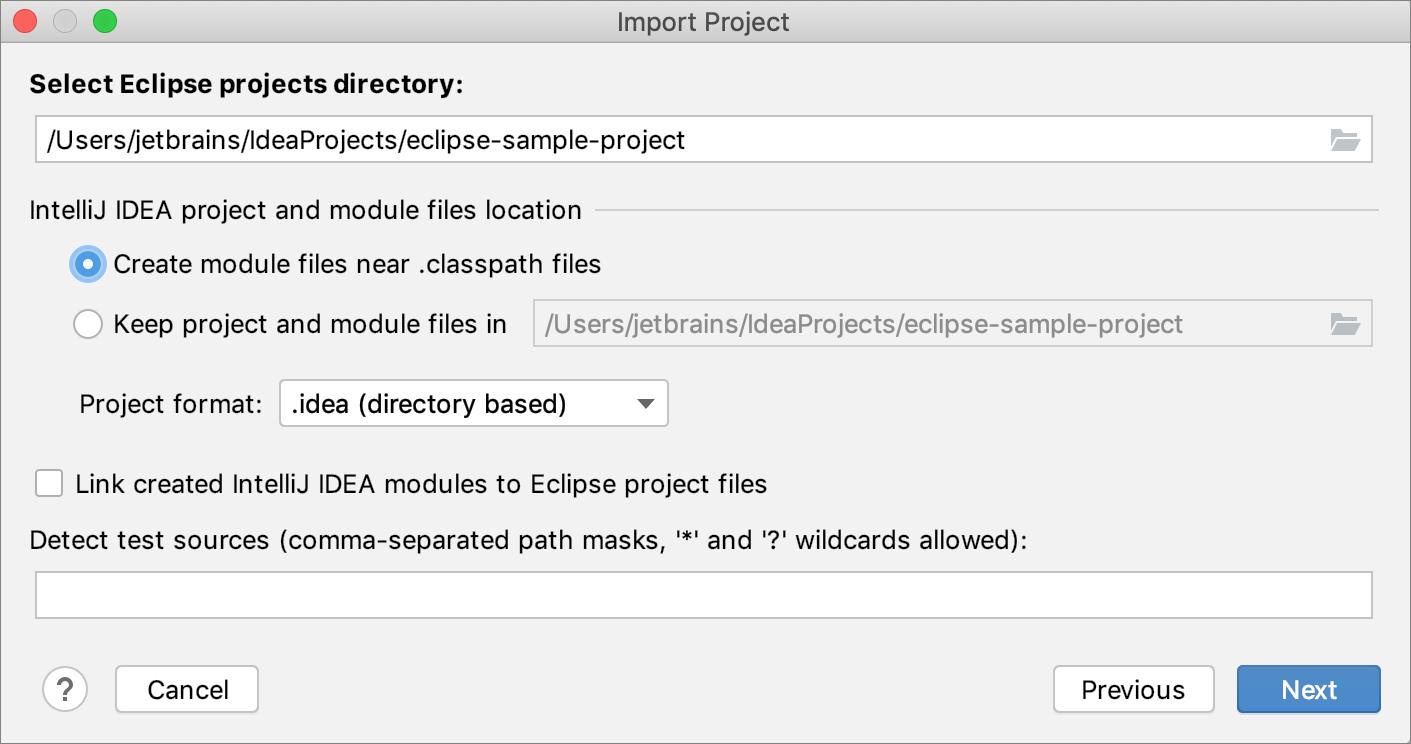 从Eclipse导入项目