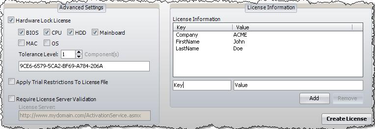 程序授权托管解决方案IntelliLock示例:如何解锁锁定的组件
