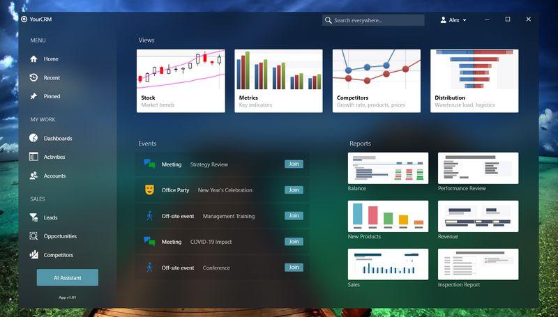 DevExpress WPF应用程序设计 - 具有灵活外观选项的视图