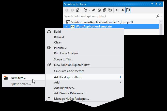 DevExpress WPF使用教程:模板库概述