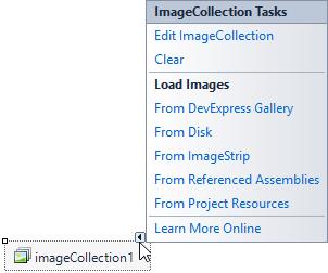 DevExpress WinForms控件入门指南:图像库和上下文相关图像