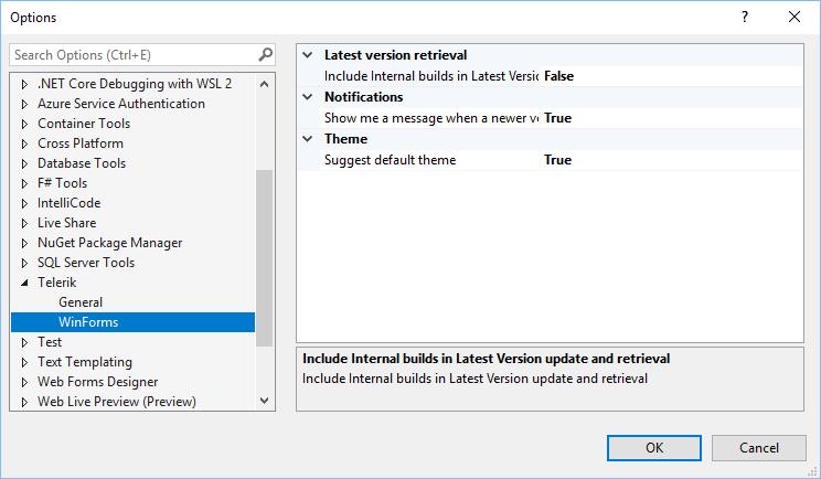 UI控件集Telerik UI for WinForms R2 2021新版亮点:Office2019主题色变化