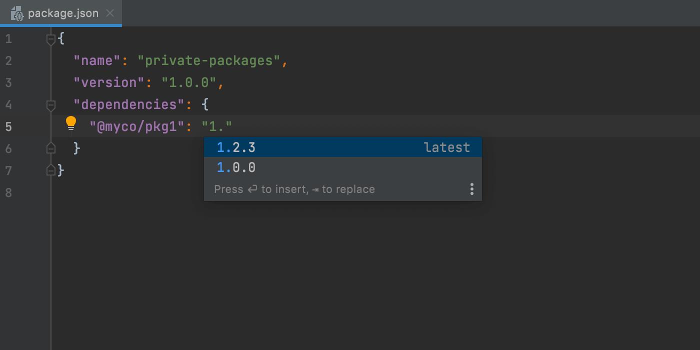 完成-for-private-packages-npm