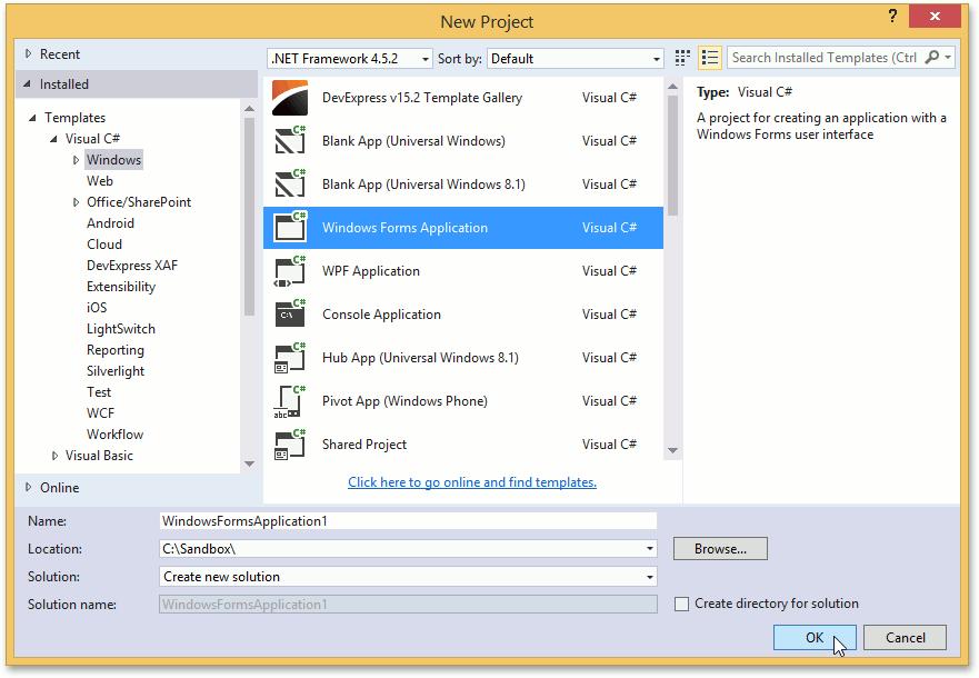 创建Visual Studio样式的应用界面 - 文档管理界面01