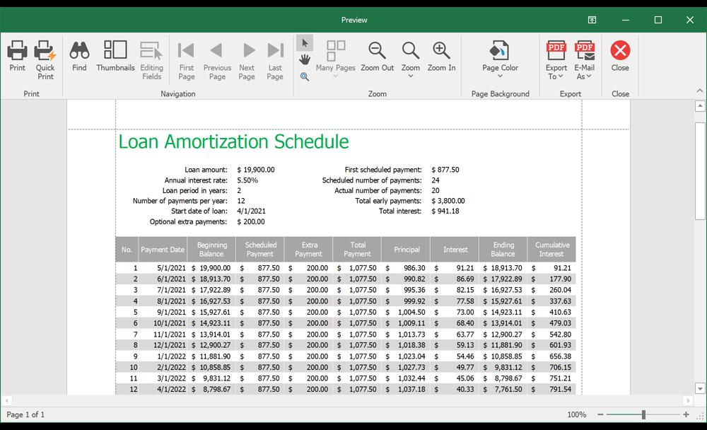 电子表格文档控件DevExpress Office File API v21.1新版图集5