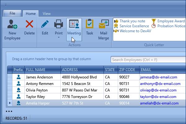 DevExpress WPF主题列表图解 - DeepBlue主题