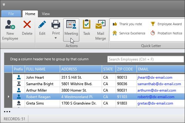 DevExpress WPF主题列表图解 - LightGray主题