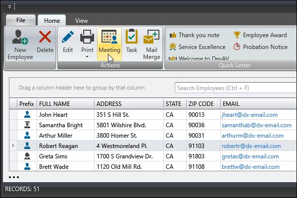 DevExpress WPF主题列表图解 - Office2007Black主题
