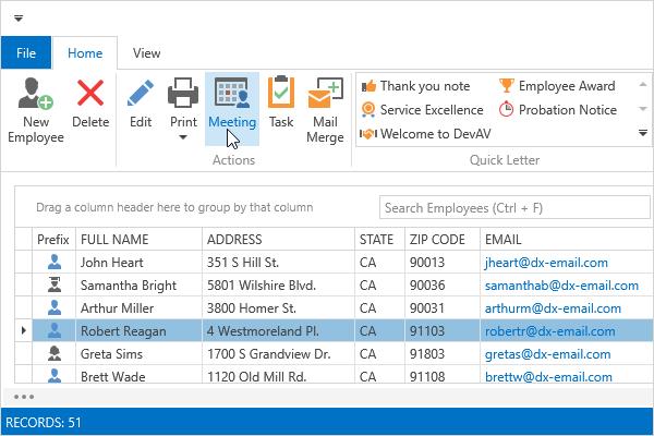 DevExpress WPF主题列表图解 - Office2016WhiteSE主题