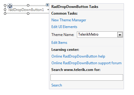WinForm界面控件Telerik UI for WinForm初级教程 - 控件功能探索图集