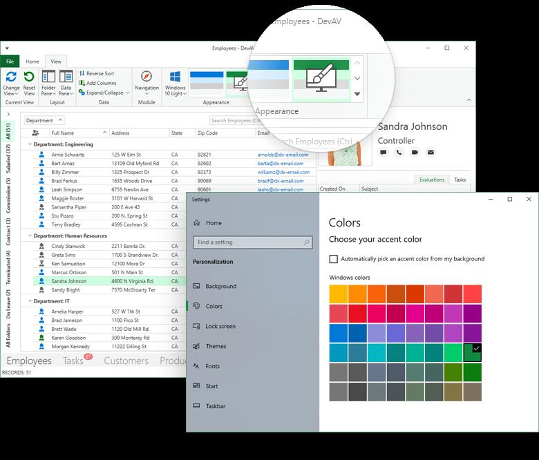 DevExpress WPF入门级教程 - 主题调色板的使用图集6
