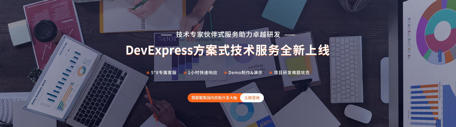 DevExpress方案式服务已正式上线