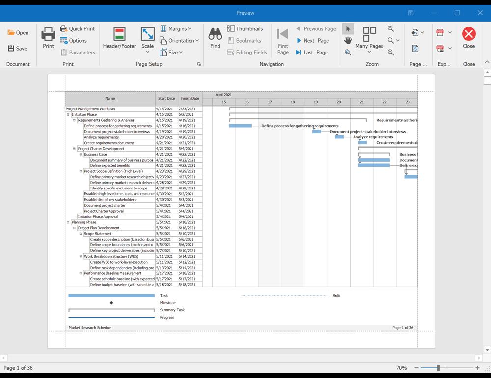DevExpress WinForms v21.1新版亮点放送:甘特图、地图控件升级