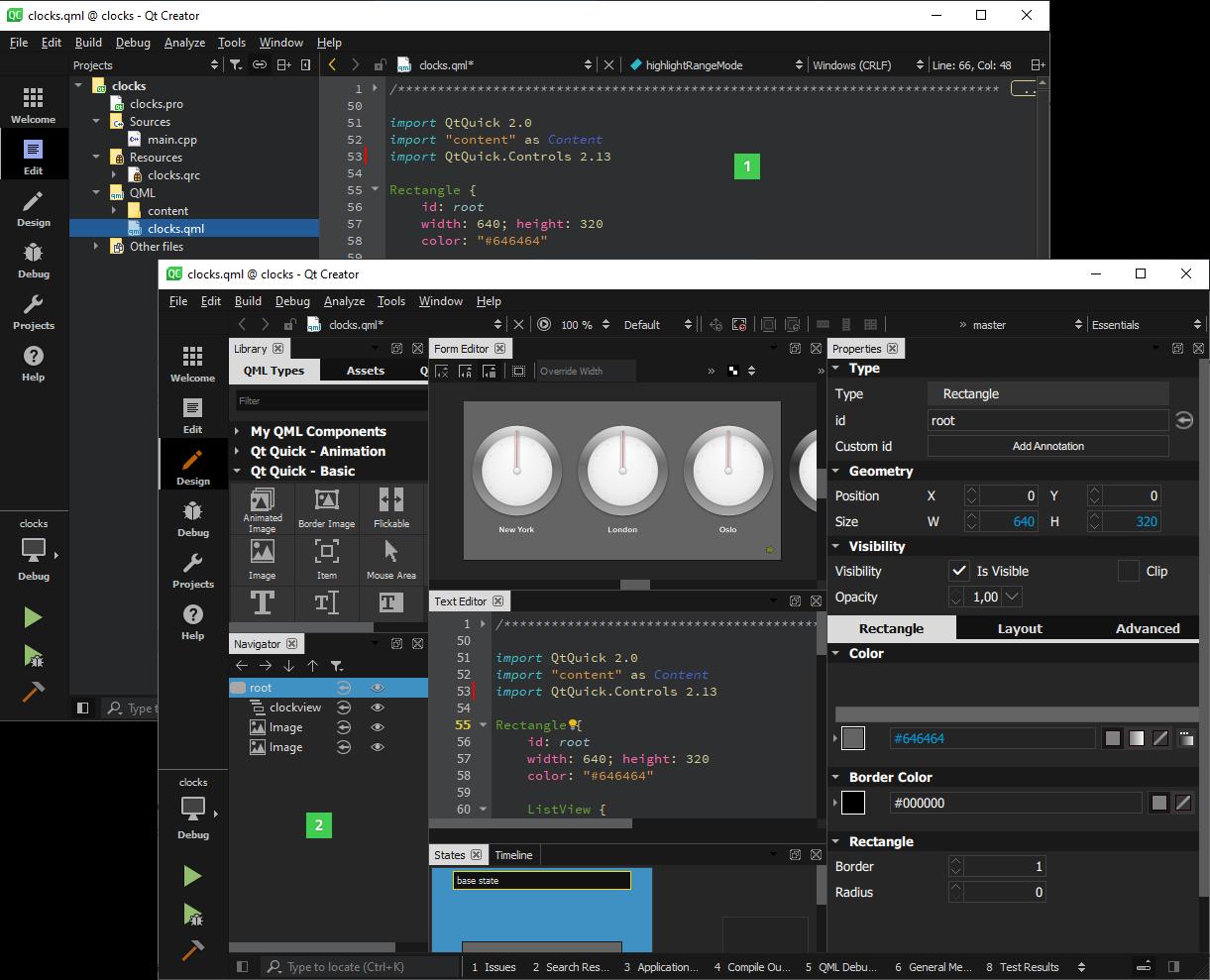 C++图形用户界面开发框架Qt - 开发工具图