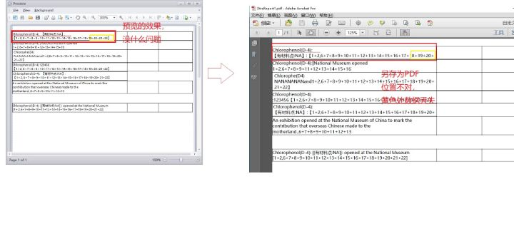 Xtrareport 预览和导出PDF后数据不一样,PDF展示不全