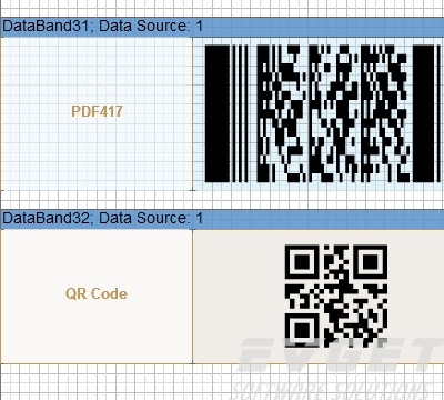 Stimulsoft Reports.PHP界面预览:Barcodes and labels