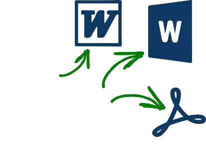 兼容的文件格式