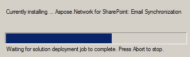 Aspose.Total for SharePoint installation