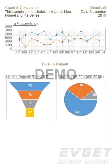 Stimulsoft Reports.Ultimate界面预览:Site Statistics