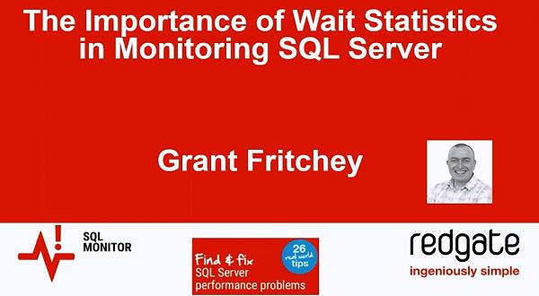 SQL Monitor中等待统计的重要性
