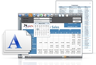WPF Viewer for Reporting Services界面预览:WPF Viewer